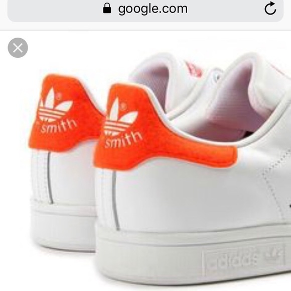 best website 6de6a bee15 adidas Shoes - Adidas Stan Smith limited edition orange white s 5